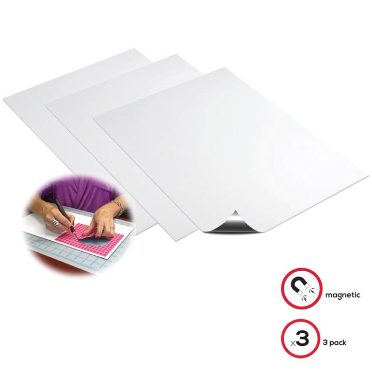 Deflecto MAGNETIC 8x15 SHEETS 3 Pack 5901 zoom image