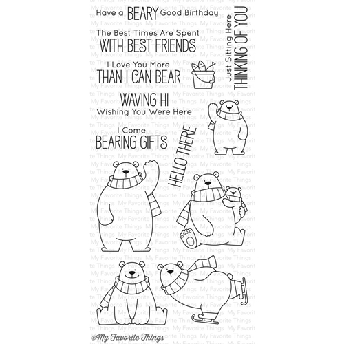 My Favorite Things POLAR BEAR PALS Clear Stamps BB40 Preview Image