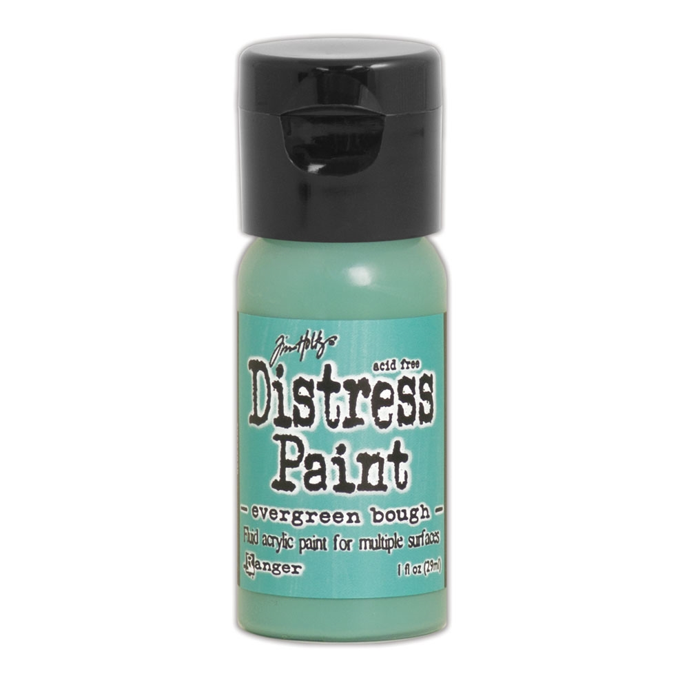 Tim Holtz Flip Top Distress Paint EVERGREEN BOUGH Ranger TDF53026 zoom image
