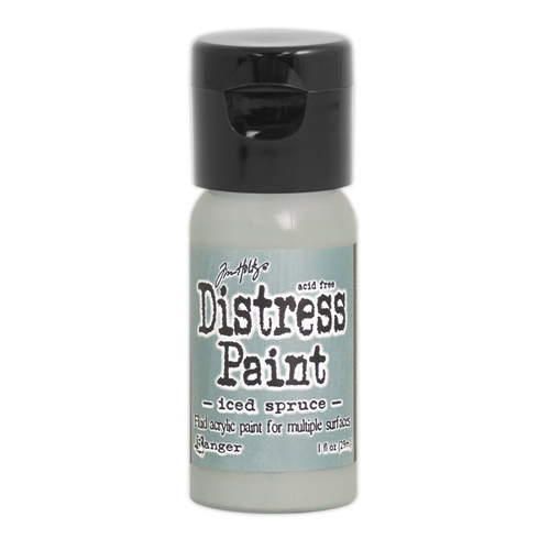 Tim Holtz Flip Top Distress Paint ICED SPRUCE Ranger TDF53095 Preview Image