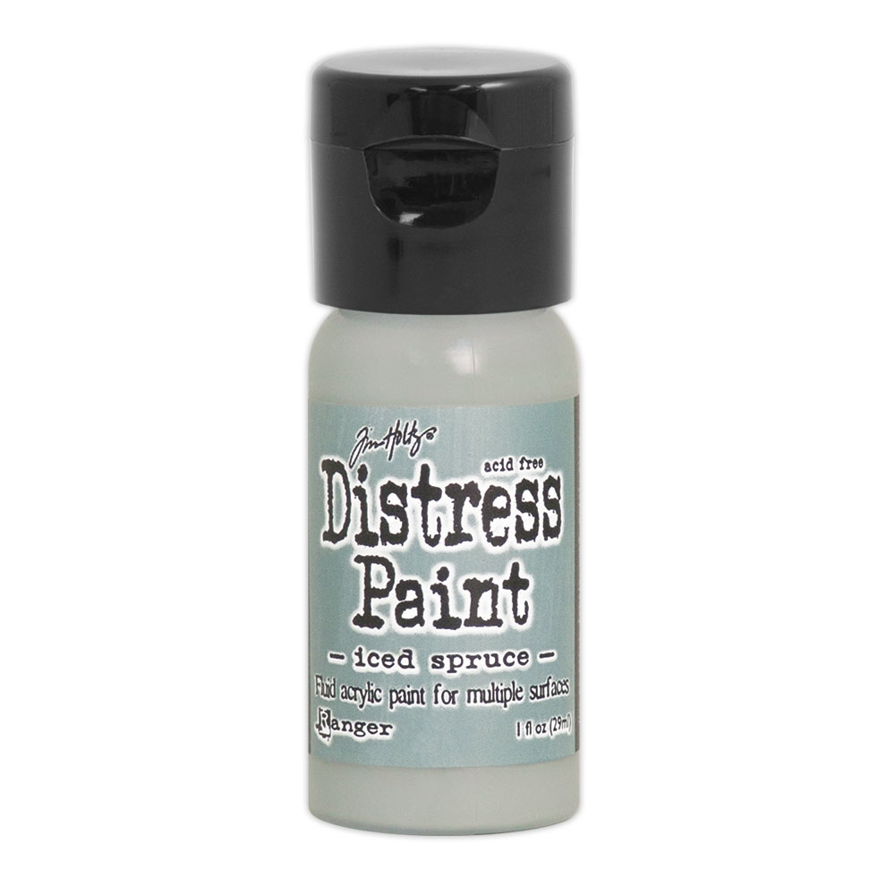 Tim Holtz Flip Top Distress Paint ICED SPRUCE Ranger TDF53095 zoom image