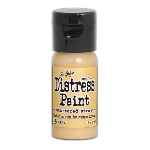 Tim Holtz Flip Top Distress Paint SCATTERED STRAW Ranger TDF53231 Preview Image