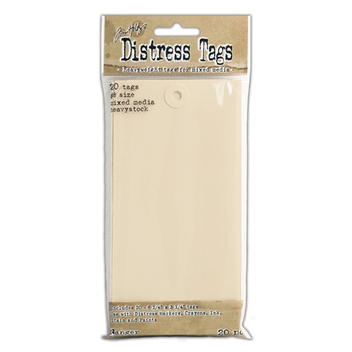 Ranger Tim Holtz Distress MIXED MEDIA HEAVYSTOCK #8 TAGS TDA53828 Preview Image