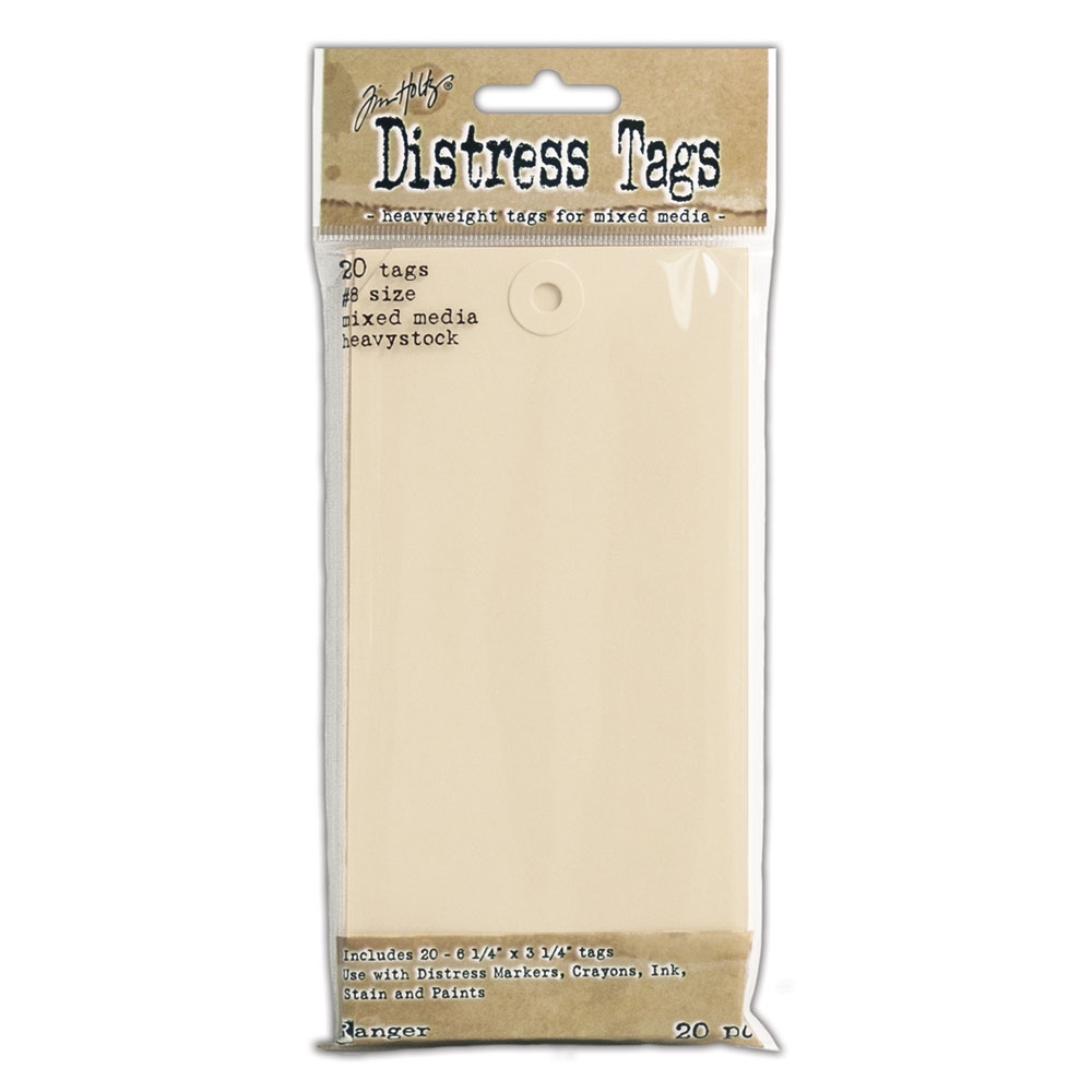 Ranger Tim Holtz Distress MIXED MEDIA HEAVYSTOCK TAGS TDA53828 zoom image