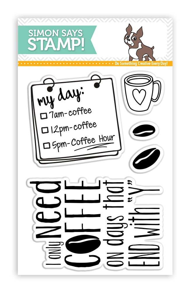 Simon Says Clear Stamps COFFEE HOUR SSS101663 zoom image
