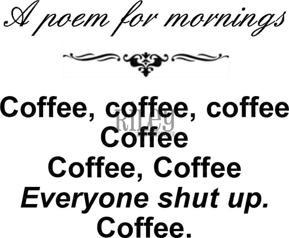 Riley and Company Funny Bones A POEM FOR MORNINGS Cling Stamp Set RWD 539 zoom image