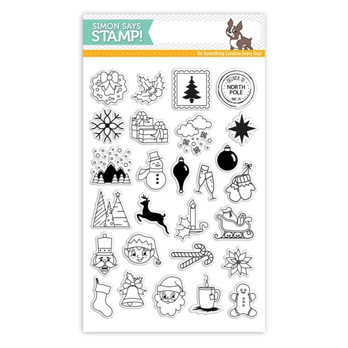 Simon Says Clear Stamps ADVENT HOLIDAY ICONS SSS101683 * Preview Image