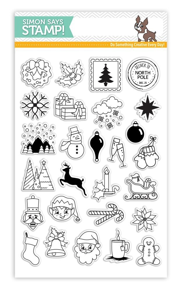 Simon Says Clear Stamps ADVENT HOLIDAY ICONS SSS101683 * zoom image