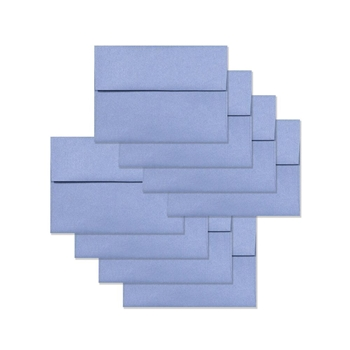 Simon Says Stamp Envelopes METALLIC CORNFLOWER BLUE SSSE39