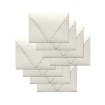 Simon Says Stamp Envelopes V FLAP METALLIC IVORY SSSE49