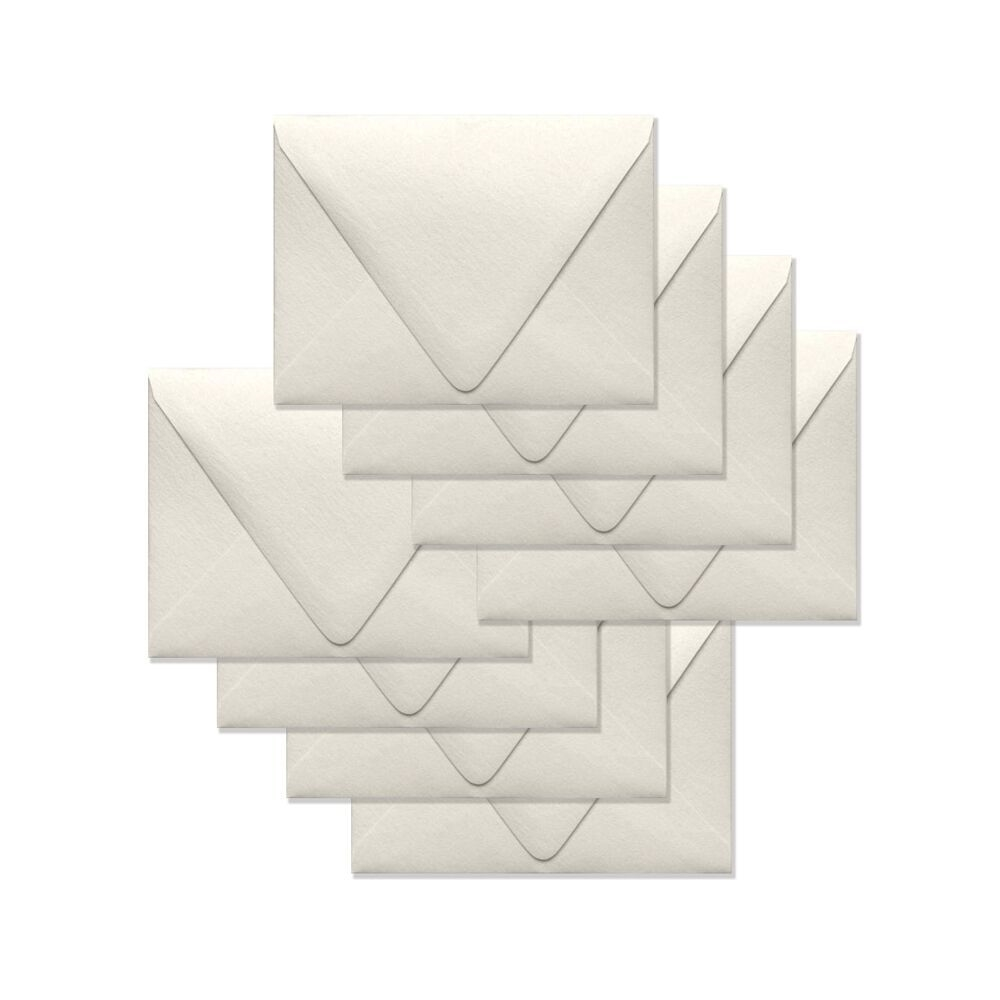 Simon Says Stamp Envelopes V FLAP METALLIC IVORY SSSE49 zoom image