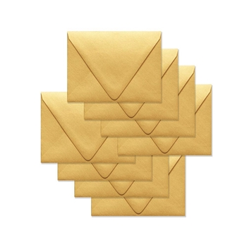 Simon Says Stamp Envelopes V FLAP METALLIC GOLD SSSE53