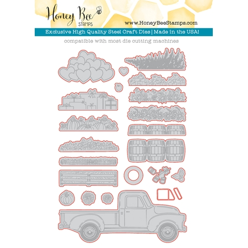 Honey Bee LITTLE PICKUP Dies HBDS-036 Preview Image