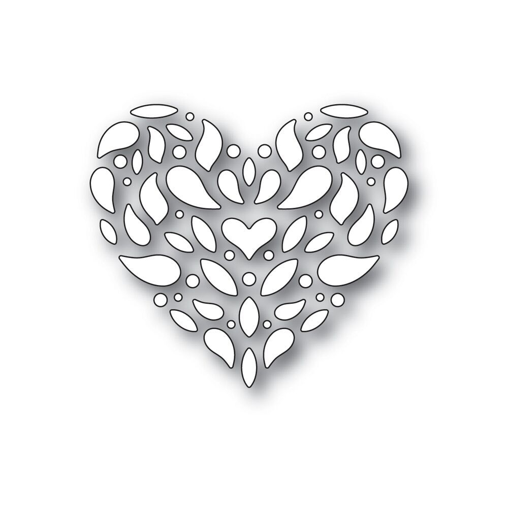 Simon Says Stamp CORBEL HEART Wafer Die S412 zoom image