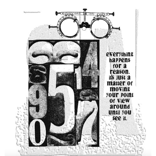 Tim Holtz Cling Rubber Stamps THE COUNTDOWN CMS002 Preview Image