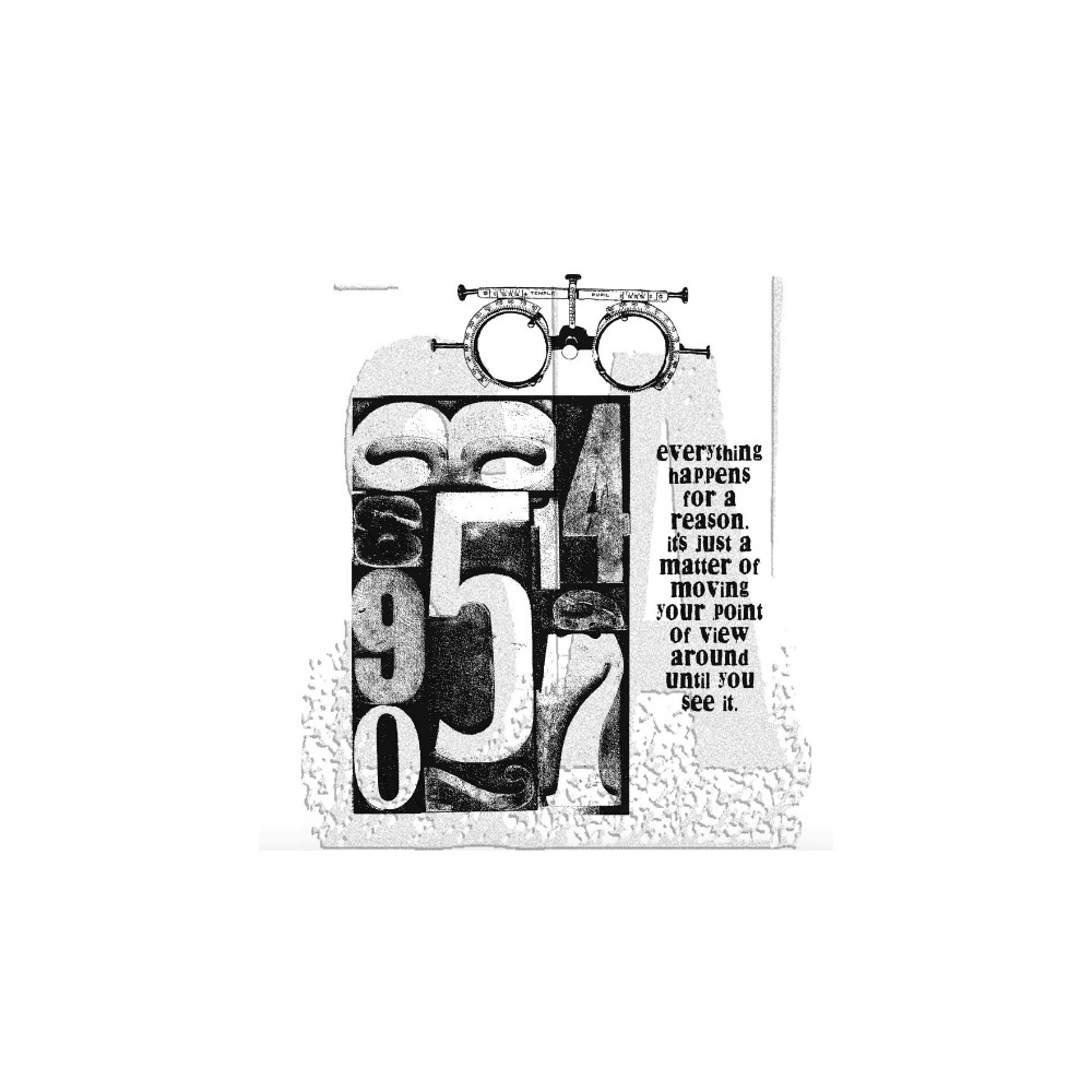 Tim Holtz Cling Rubber Stamps THE COUNTDOWN CMS002 zoom image