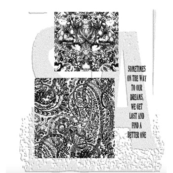 Tim Holtz Cling Rubber Stamps GARMENT DISTRICT CMS007