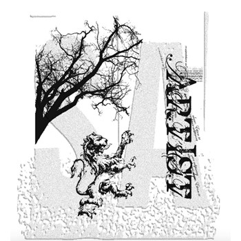 Tim Holtz Cling Rubber Stamps REGAL FINDINGS cms014