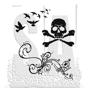 Tim Holtz Cling Rubber Stamps ANTHOLOGY CMS026