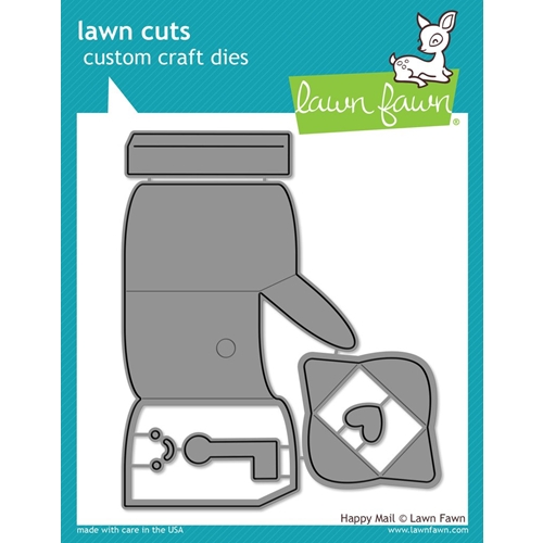Lawn Fawn HAPPY MAIL Lawn Cuts Dies LF1294 Preview Image