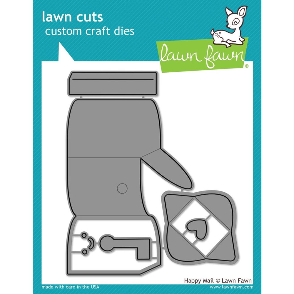 Lawn Fawn HAPPY MAIL Lawn Cuts Dies LF1294 zoom image
