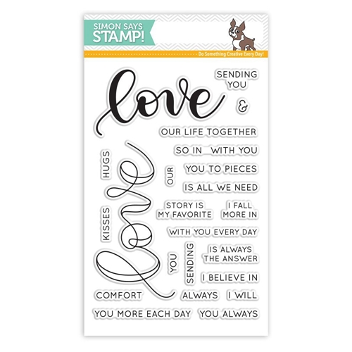 Simon Says Clear Stamps LOVE SSS101698 Hey Love * Preview Image