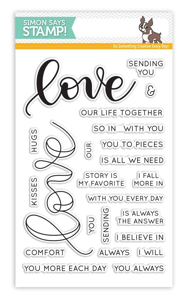 Simon Says Clear Stamps LOVE SSS101698 Hey Love * zoom image