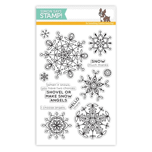 Simon Says Clear Stamps FROZEN FRACTALS SSS101694 Preview Image
