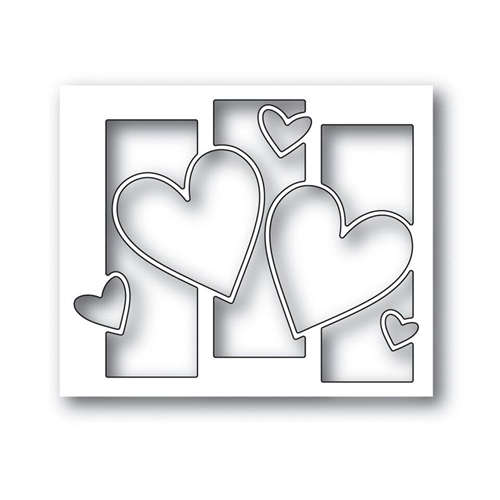 Simon Says Stamp HEARTS ALIVE Wafer Die S419 Hey Love Preview Image