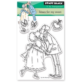 Penny Black Clear Stamps KISSES FOR MY SWEET 30 395*