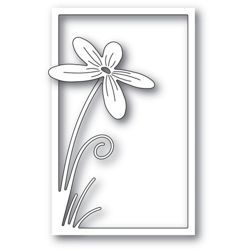 Poppy Stamps FLORAL STEM COLLAGE Craft Die 1737 Preview Image
