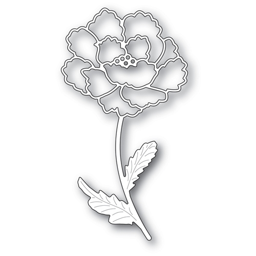 Memory Box BLOOMING PEONY STEM Craft Die 99619 Preview Image