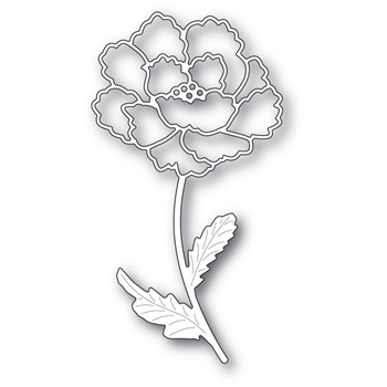 Memory Box BLOOMING PEONY STEM Craft Die 99619