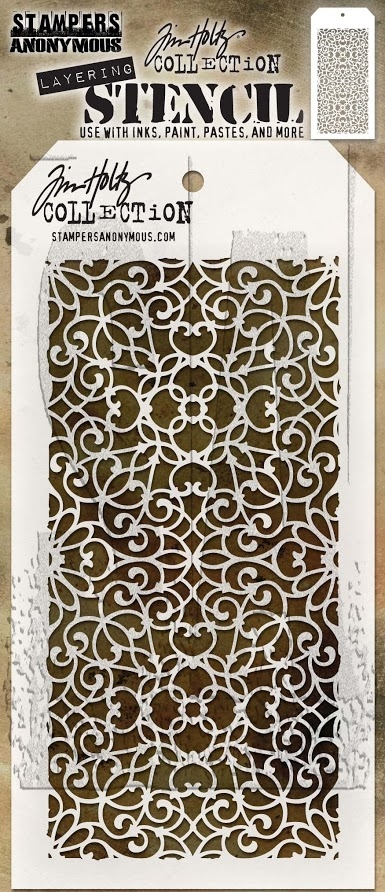 Tim Holtz Layering Stencil ORNATE THS076 zoom image