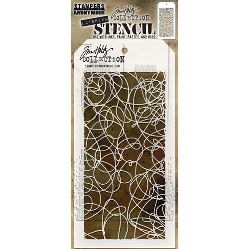 Tim Holtz Layering Stencil DOODLE THS072 Preview Image
