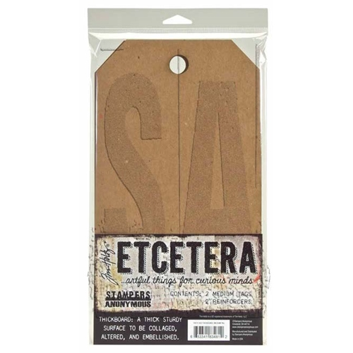 Tim Holtz Etcetera MEDIUM TAG Thickboards THETC-002 Preview Image