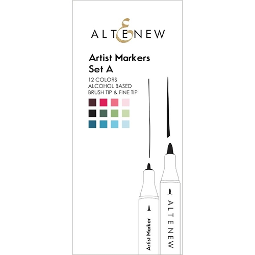 Altenew Artists Markers SET A ALT1453 Preview Image