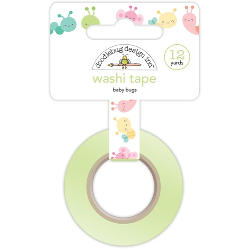 Doodlebug BABY BUGS Washi Tape Spring Things 5464* Preview Image