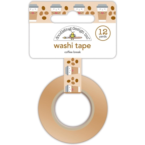 Doodlebug COFFEE BREAK Washi Tape Cream and Sugar 5461 Preview Image