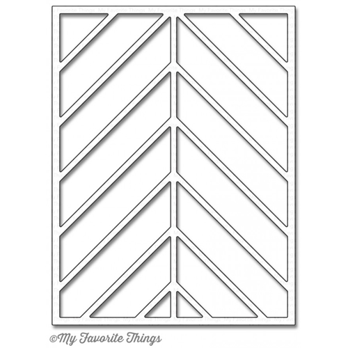 My Favorite Things CHEVRON SEGMENTS COVER UP Die-Namics MFT1031 Preview Image