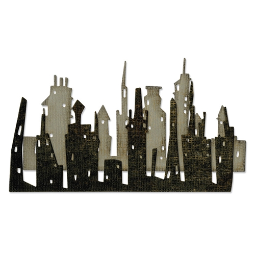Tim Holtz Sizzix CITYSCAPE SKYLINE Thinlits Die 661810 Preview Image