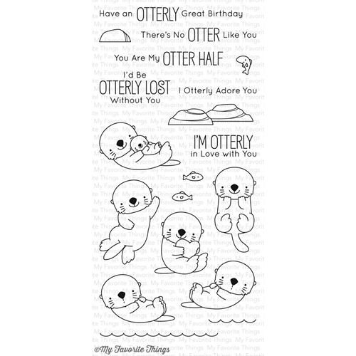 My Favorite Things OTTERLY LOVE YOU Clear Stamps BB42 Preview Image