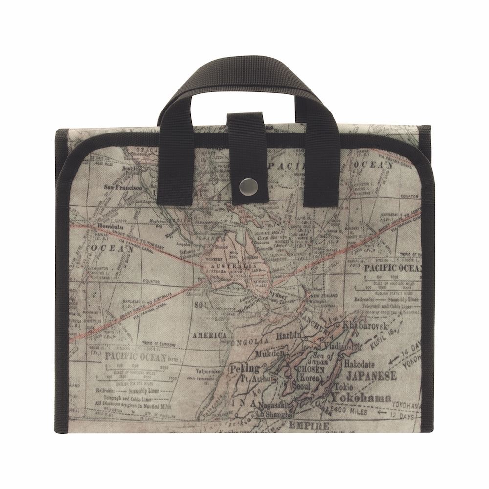 Tim Holtz Idea-ology EXPEDITION FOLDING TOTE Storage Solutions CH93801 zoom image