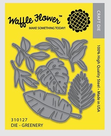Waffle Flower GREENERY Die Set 310127 Preview Image