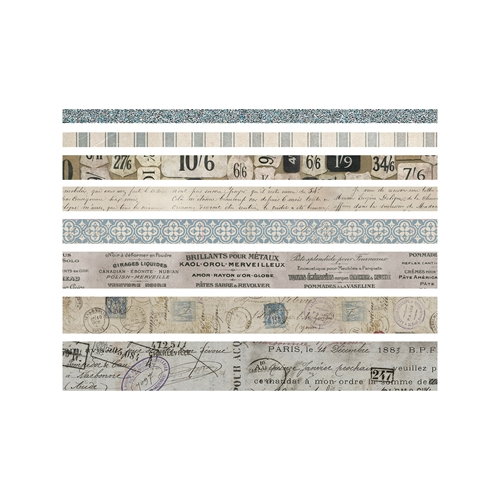 Tim Holtz Idea-ology FRENCH Design Tape Paperie TH93355 Preview Image
