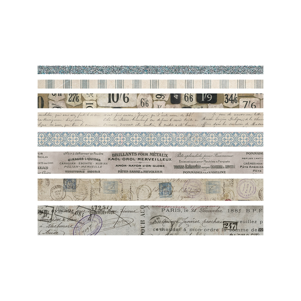 Tim Holtz Idea-ology FRENCH Design Tape Paperie TH93355 zoom image