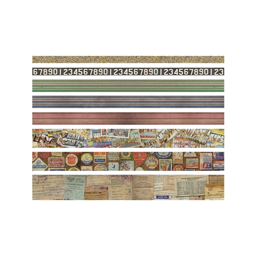 Tim Holtz Idea-ology TRAVEL Design Tape TH93352 Preview Image