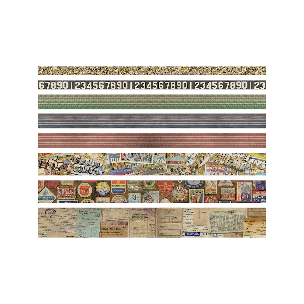 Tim Holtz Idea-ology TRAVEL Design Tape TH93352 zoom image