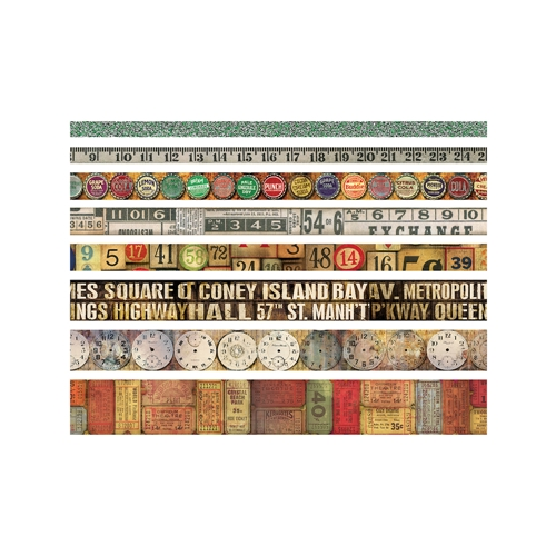 Tim Holtz Idea-ology VINTAGE Design Tape TH93353 Preview Image