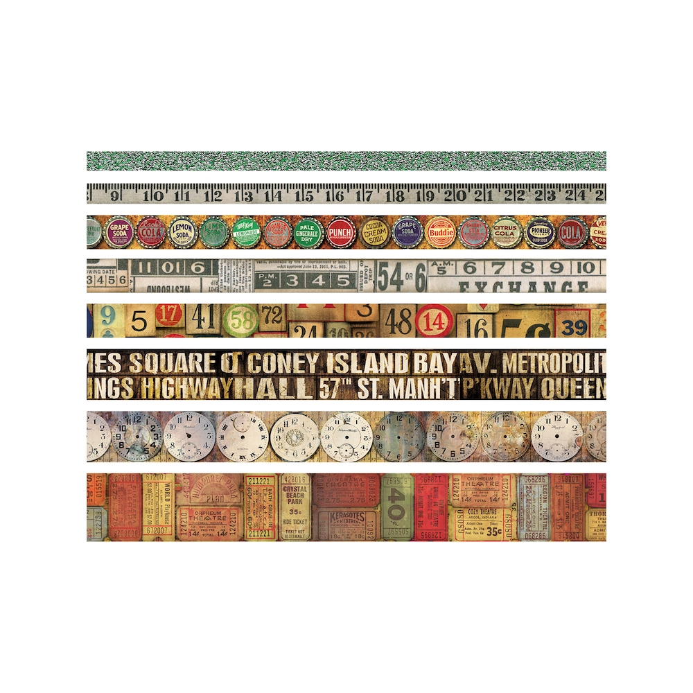 Tim Holtz Idea-ology VINTAGE Design Tape TH93353 zoom image